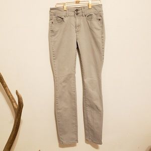 Victoria's Secret VS Light Gray Skinny Jean - 0